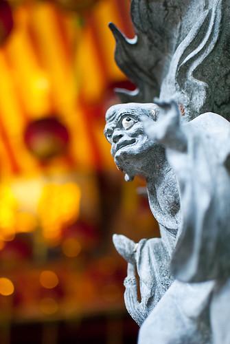 temple chinese kong sarawak malaysia borneo wang kuching sen