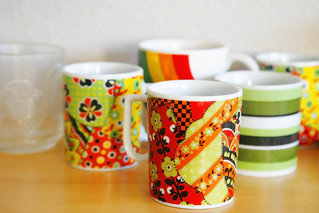 home life thrifted mugs _MG_0006 | by ex.libris