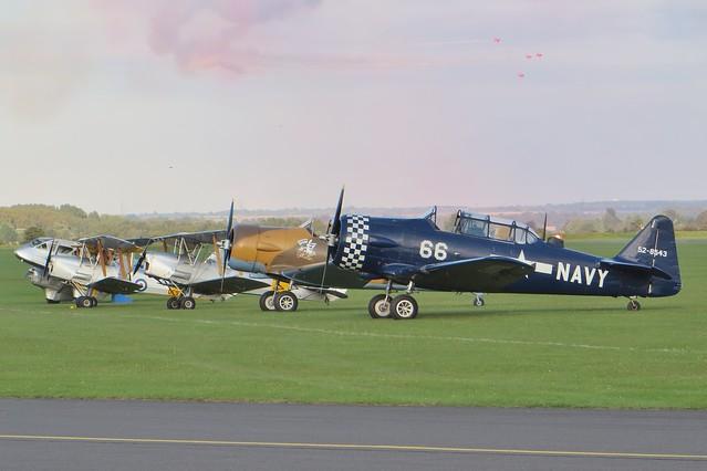 G-BUKY 52-8543 Battle of Britain Airshow Duxford 20 September 2015