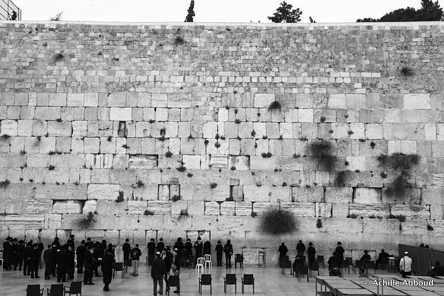 The West Wall - Jerusalem