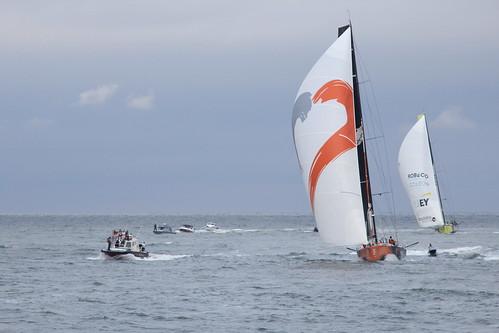 Alvimedica 3th - Brunel 4th - Volvo Ocean Race 2014-2015 - Leg 5 - Itajaí   by rghisi