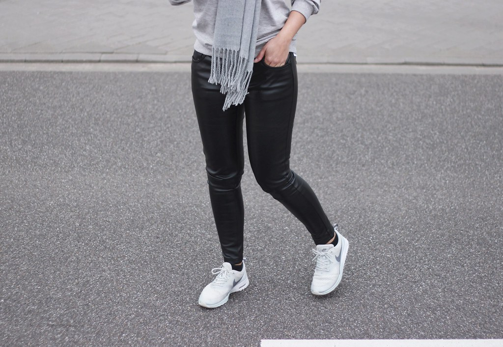 e84cfc9d58 Nike-air-max-thea-leather-trousers-street-style | Shout- out to you ...