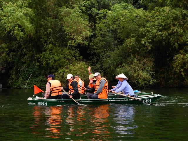 Barcos de Trang An