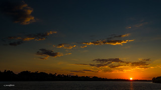 Sunset @ Zambezi River, Zimbabwe | by x_tan