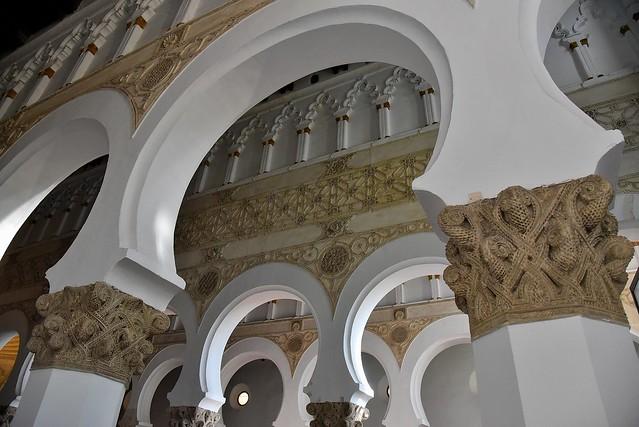 SSR_2141 Sinagoga de Sta Maria la Blanca. Synagogue of Sta. Maria la Blanca. Toledo. Spain
