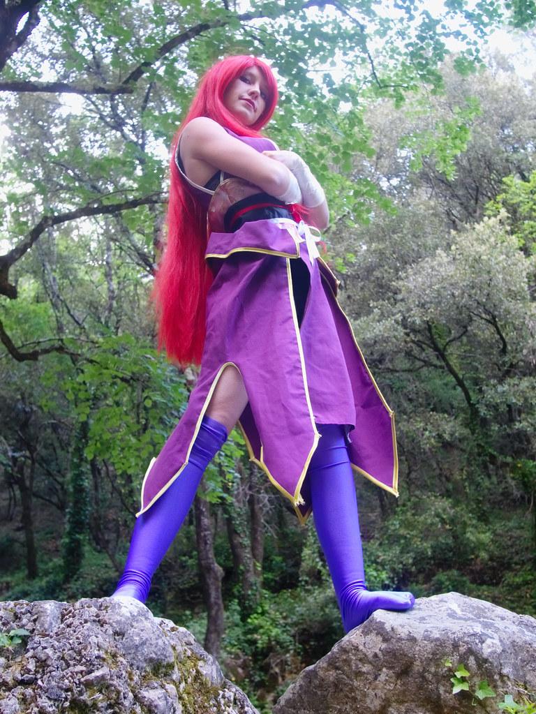 related image - Shooting Erza Scarlet - Robe de Yuen - Fairy Tail - Montferrat - 2015-05-15- P1080627