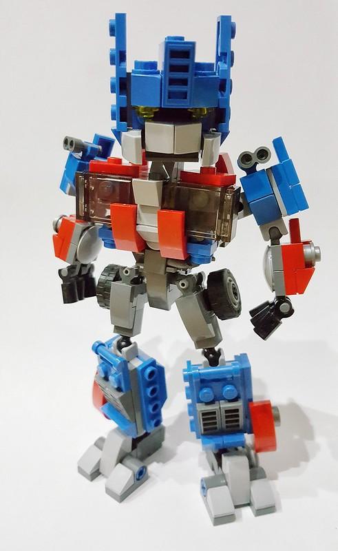 Chibi optimus prime ver.2