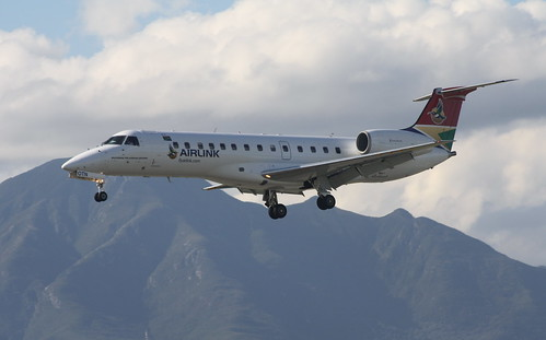 South African Airlink ERJ-135LR ZS-OTN   by Asylumkid