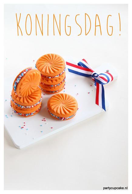 Koningsdag/Kingsday cookies