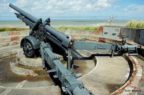 Gun on Hitlers Atlantic wall