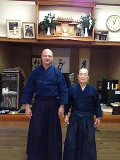 At Namitome Sensei's Dojo | by Mark Tankosich