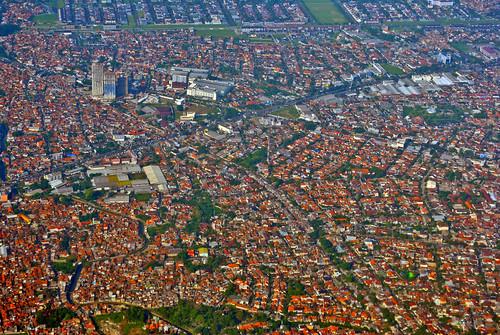 city aerialview bandung kota fotoudara