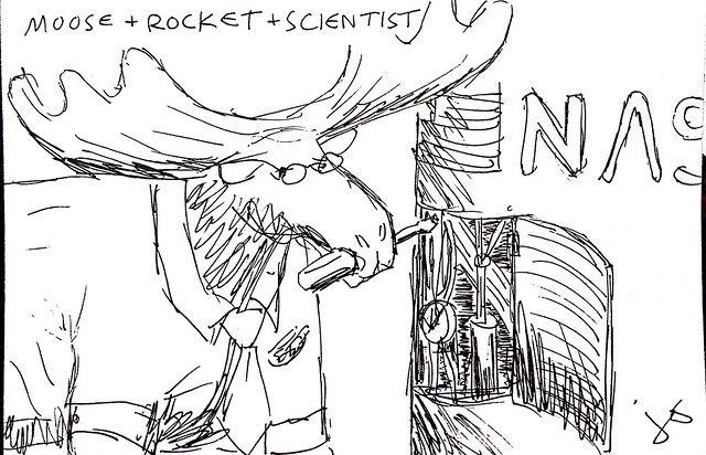 Moose + Rocket + Scientist