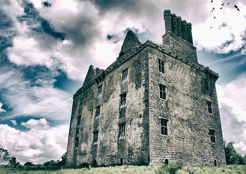 glinskcastle galway ruin connacht ireland