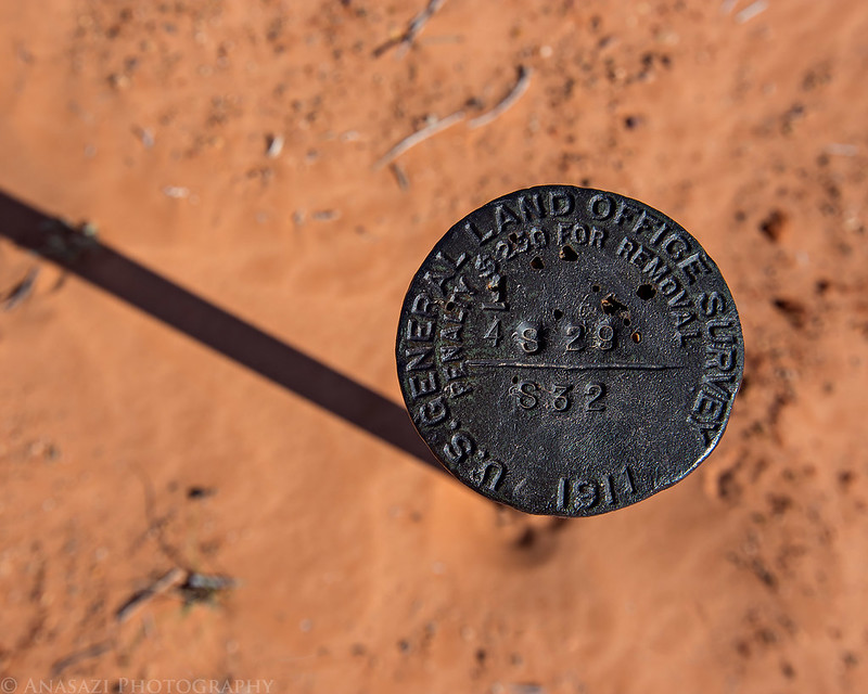 1911 Survey Marker