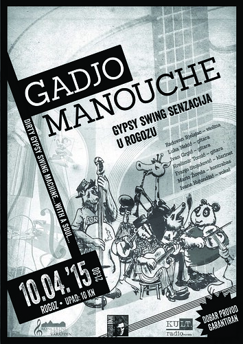 "Koncert  ""GADJO MANOUCHE""-a u  Rogozu"