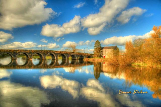 Goresbridge reflections.
