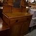 Pitch pine antique 2 door sideboard