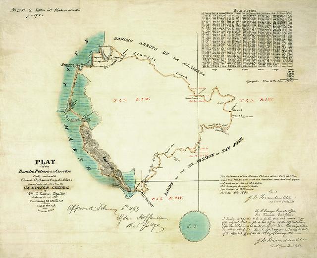Desenio Map - Cerritos, from Washington Hospital Exhibition, 2500 Mowry