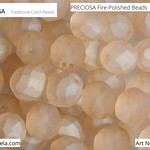 PRECIOSA Fire-Polished Beads - 151 19 001 - 00030/23551