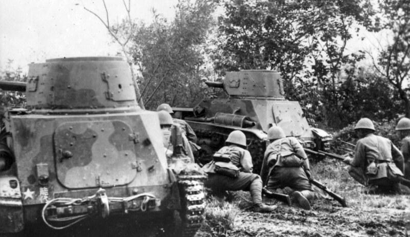 Type 94 tankettes