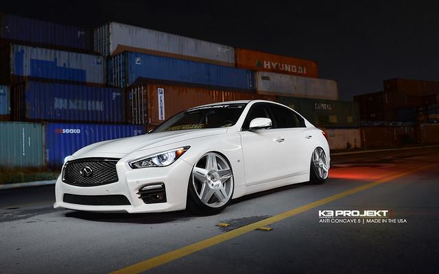 K3 Projekt Wheels   AC5 Wheels   Made in the USA Cast Wheels   Infiniti Q50s