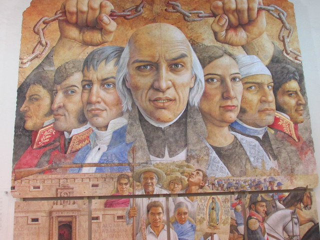 front and center: Miguel Hidalgo