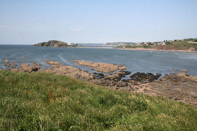 The coast at Bantham