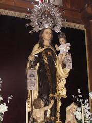 Nuestra Señora del Carmen Coronada