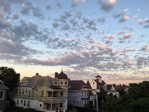 sunset sky boston clouds timelapse massachusetts newengland somerville prospecthillpark timestack