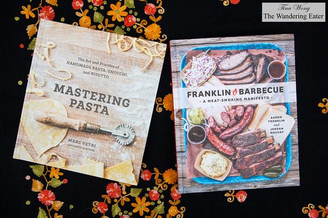Mastering Pasta by Marc Vetri with David Joachim & Franklin Barbecue by Aaron Franklin & Jordan Mackay