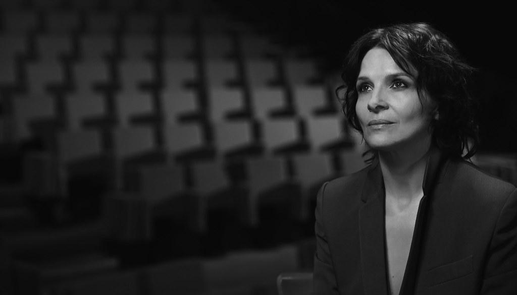 Une actrice d'exception dans mon objectif #JulietteBinoche  #interview @europe1 #sdc