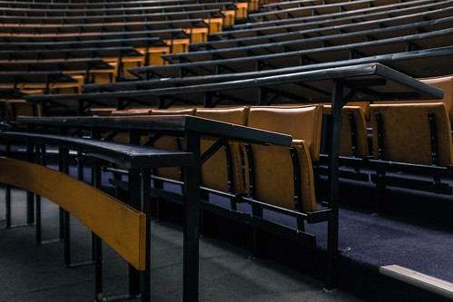 Lecture Theatre, Victoria University of Wellington, New Zealand