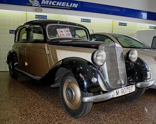 1945 Mercedes Diesel Taxi