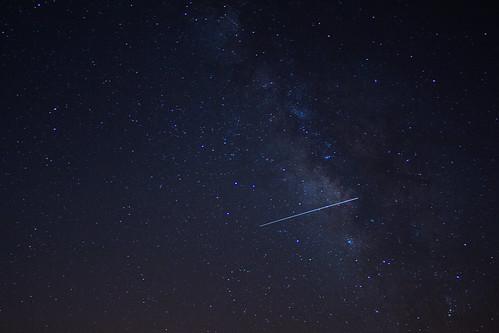 galaxy astrophotography meteorshower lyrid katameyaobservatory