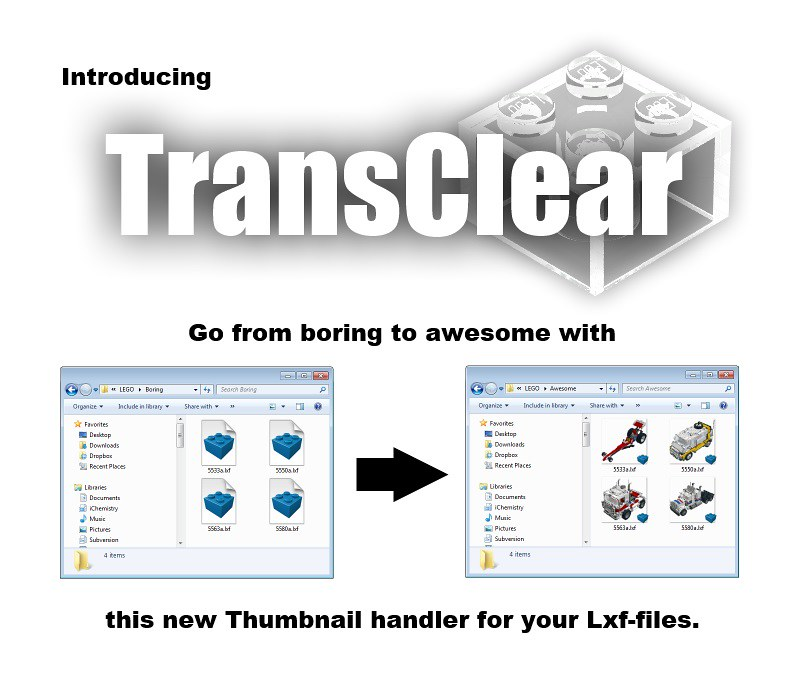 TransClear - Thumbnail handler for Lxf-files | I would like … | Flickr