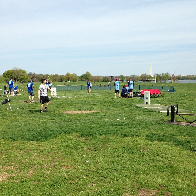Wiffle Ball warm up for the real thing