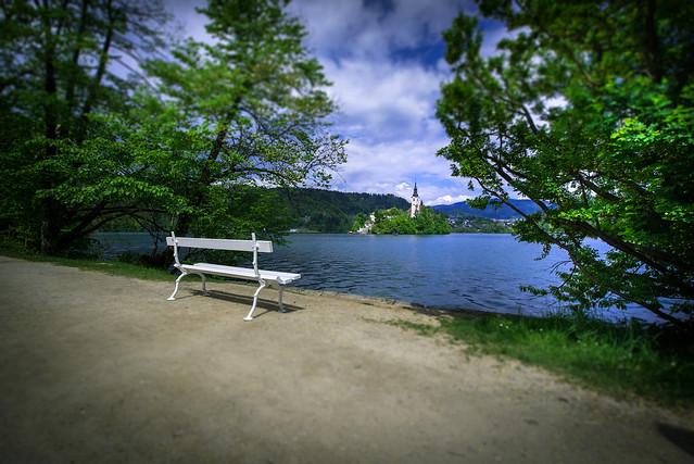 Lake Bled with Church - Slovenija