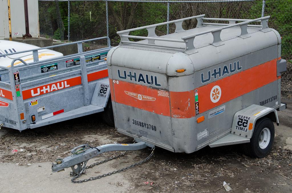 U-HAUL Sports Van Trailer | with luggage rack  | Joseph
