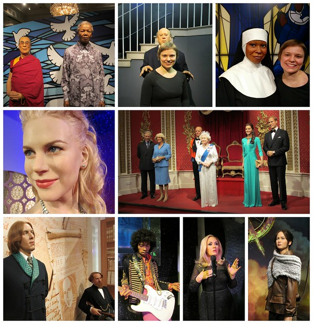 Collage: Madame Tussaud's