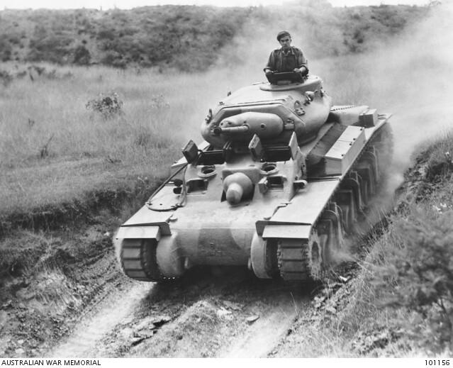 The Sentinel tank