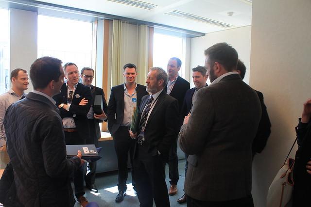 QUB MBA students visit EP