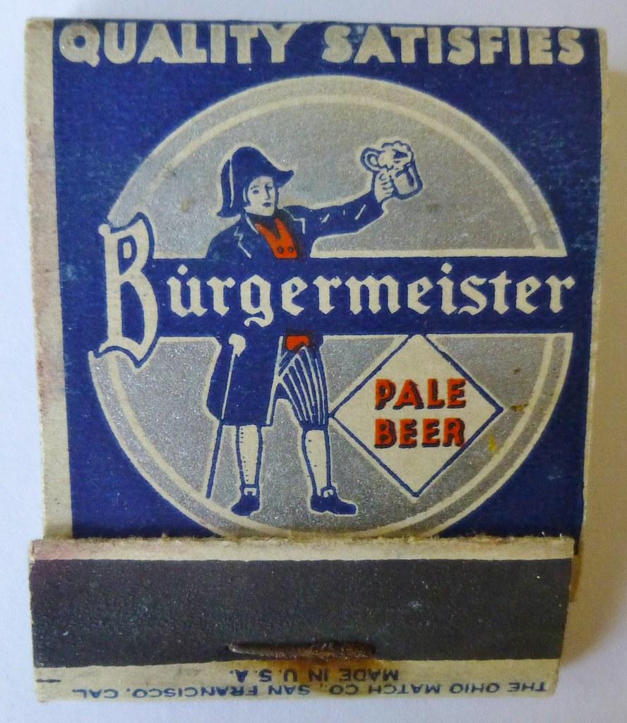 Burgermeister Beer Frank Kelsey Flickr