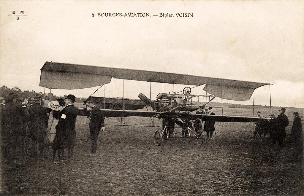 The Voisin Type Paris Bordeaux Pusher Biplane France 191 Flickr