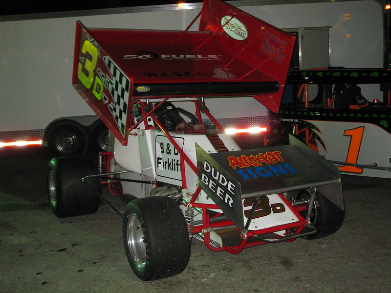 Alley Kat sprint car vehicle graphics