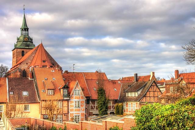 Old town Lüneburg-Germany