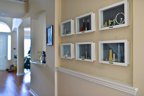 LEGO Architecture Home Decorations