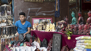 Man Sells Figurines | by World Bank Photo Collection