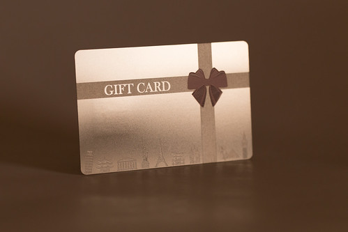 Pure Metal Cards - metal gift card | by Pure Metal Cards