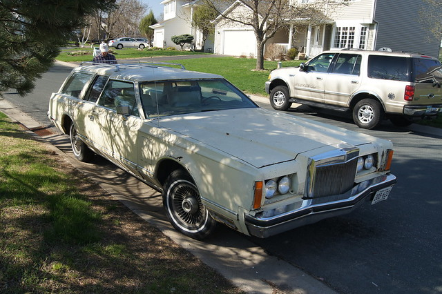 1978 Lincoln Continental Mark V Station Wagon
